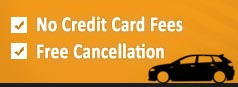 No credit card fees. Free cancellation.